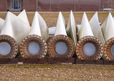 Spare wind turbine wings